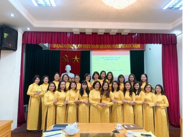 Công đoàn cơ sở Ngân hàng Nhà nước Chi nhánh tỉnh Hà Tĩnh kỷ niệm  ngày Quốc tế phụ nữ 8-3