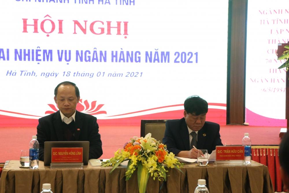 Ngân hàng Nhà nước Chi nhánh tỉnh Hà Tĩnh triển khai nhiệm vụ ngành ngân hàng Hà Tĩnh năm 2021