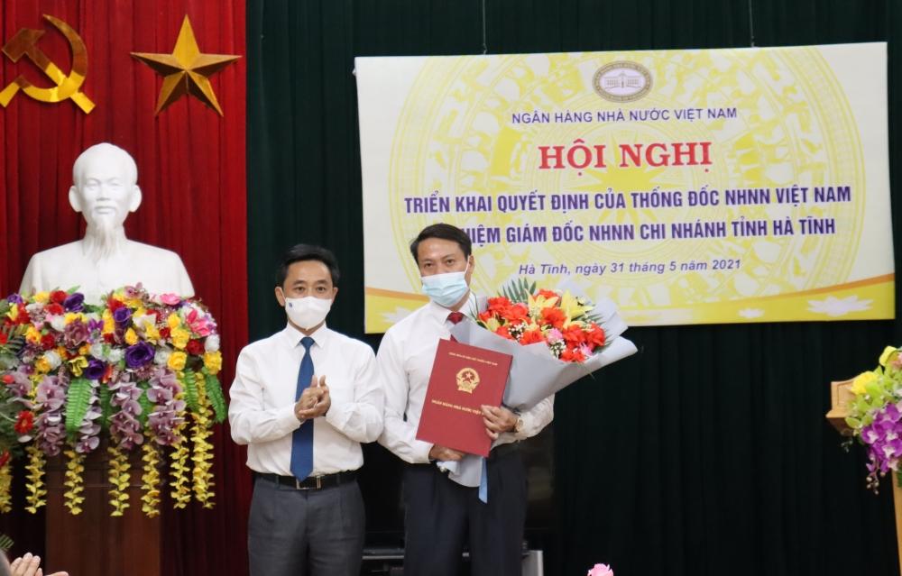 Hội nghị trực tuyến công bố Quyết định của Thống đốc Ngân hàng Nhà nước Việt Nam bổ nhiệm Giám đốc Ngân hàng Nhà nước Chi nhánh tỉnh Hà Tĩnh
