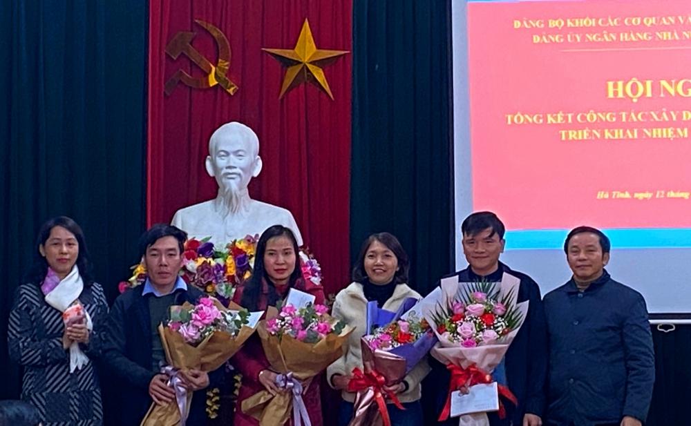 Đảng bộ Ngân hàng Nhà nước tỉnh Hà Tĩnh tổ chức Hội nghị tổng kết công tác Đảng năm 2020